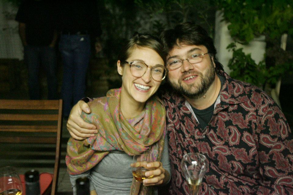 François Pointeau and Kimberly Brady